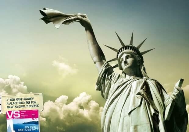 VS: Статуя Свободы