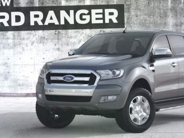 Ford показал обновленный пикап Ranger