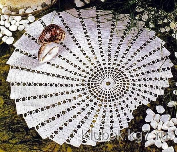 Спиральная салфетка