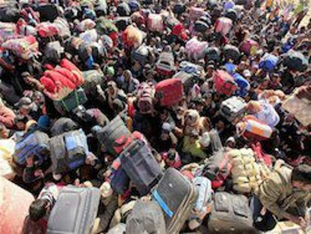 Новость на Newsland: ООН: из Украины бежали 230 тысяч человек, свыше половины - в РФ