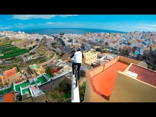 На велике по крышам…