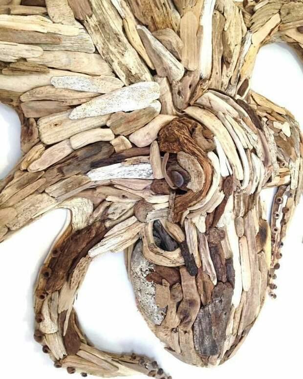 Деревянный печворк