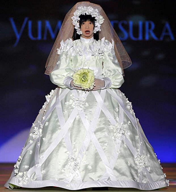 Свадебная мода порой просто безжалостна мода, платья, прикол, свадьба