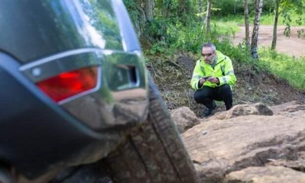 Испытания прототипа Range Rover с дистанционным управлением