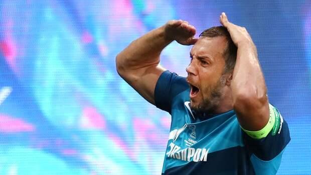 Дзюба вышел на 6-е место в списке лучших бомбардиров в истории «Зенита», догнав Аршавина