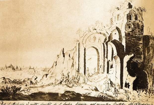 Разорение монголами Киева.