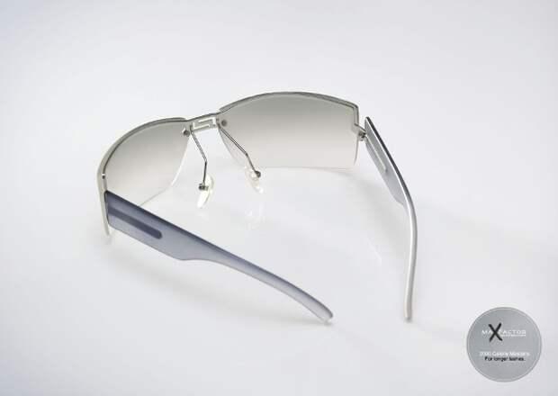 Очки специально  для длинных ресниц