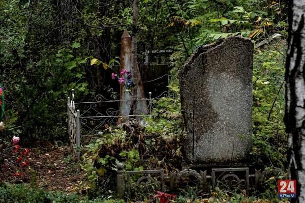 В Алуште неизвестные украли электроинструменты с кладбища