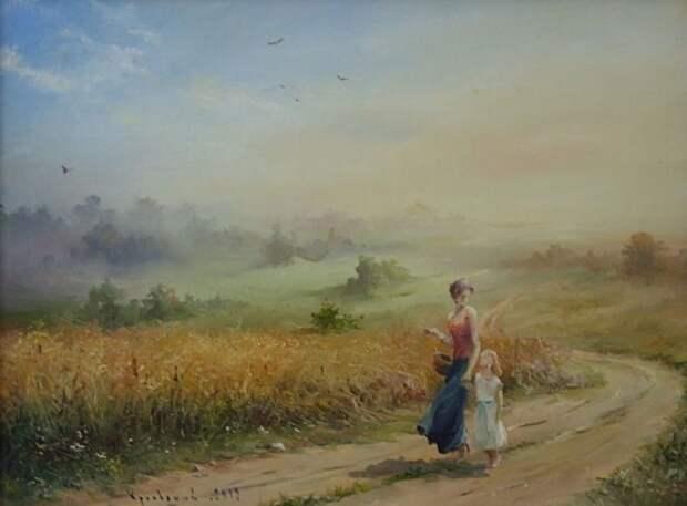 художник Владимир Краевский картины – 64