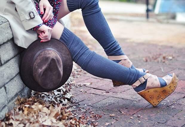 Декор обуви в стиле 1970-х  (Diy)