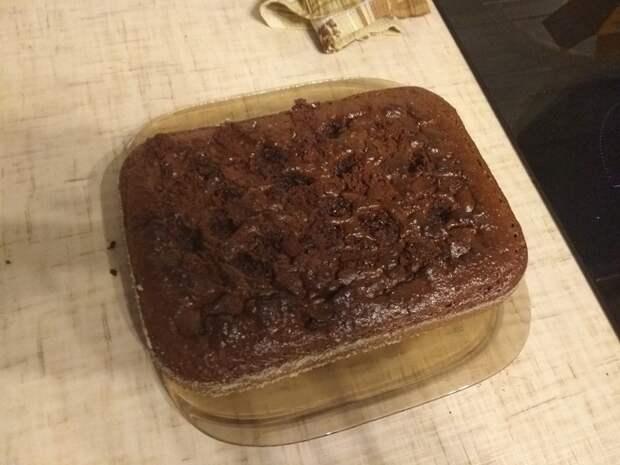 """Домашний """"Брауни"""" Шоколадный кекс, Брауни, Готовка, Еда, Длиннопост"""