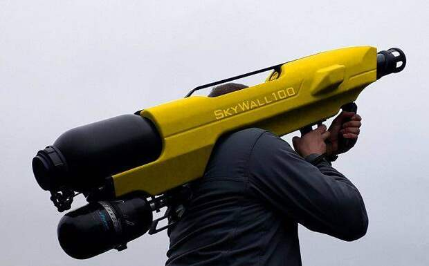 Комплекс борьбы с БПЛА SkyWall 100 (Великобритания)