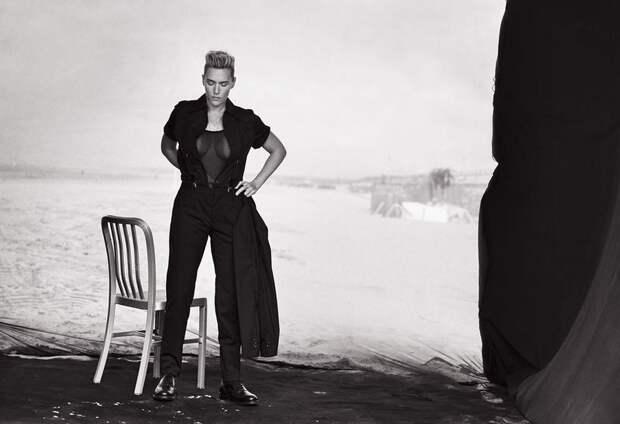Провокационные фотосессии, где знаменитые женщины переодевались в мужчин