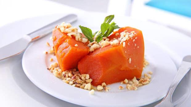 Тыква по-турецки с орехами: вкусный и простой рецепт