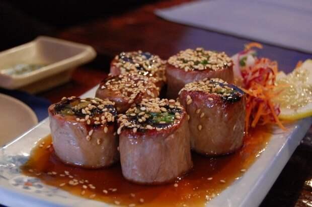 Негимаки — мясные блюда