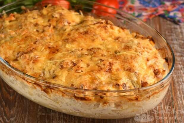 Пожалуй, это самое вкусное мясо по-французски с картошкой