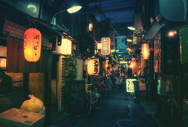 Великолепные фотографии ночного Токио