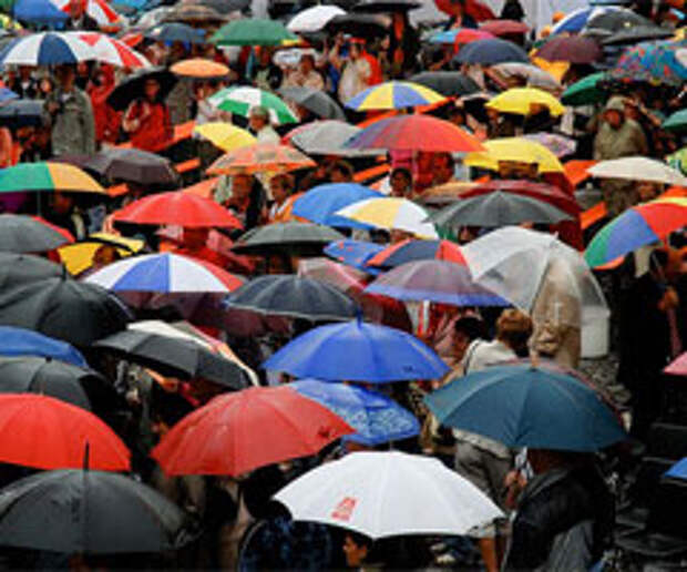 Зонт, который не позволит себя забыть