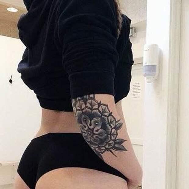 Татуировки на локтях