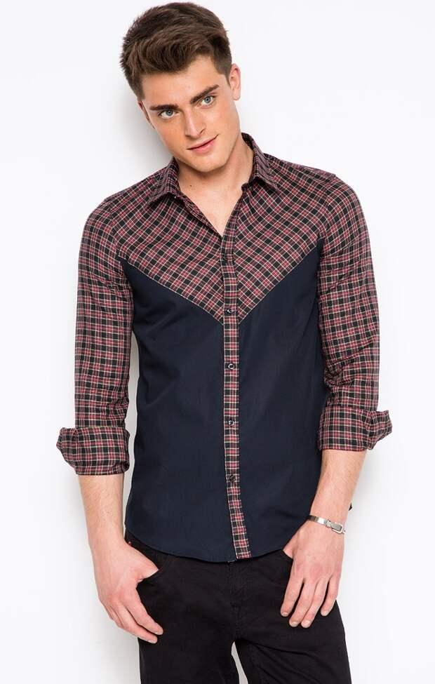 Идея переделки мужской рубашки