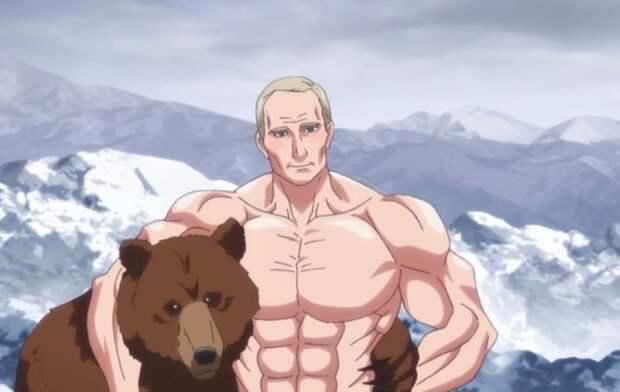 Образы русских вяпонских аниме: водка, Распутин, медведи идругие стереотипы