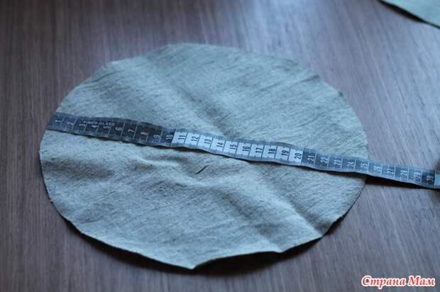 Комбинированная панамка-берет за 2 часа.