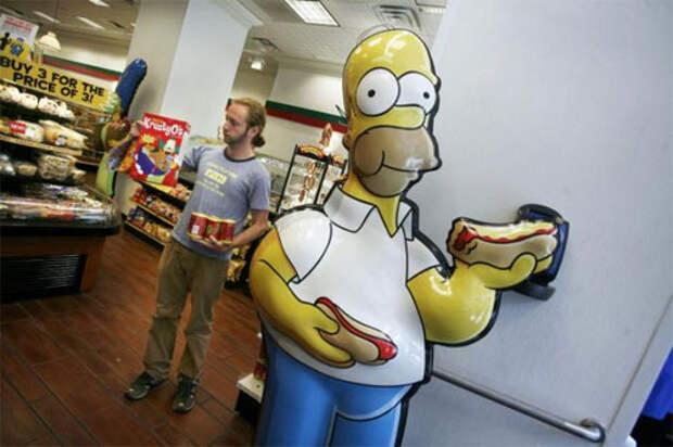 Бренды из «Симпсонов» вышли в реальный мир