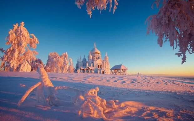 Зима в России имеет множество лиц