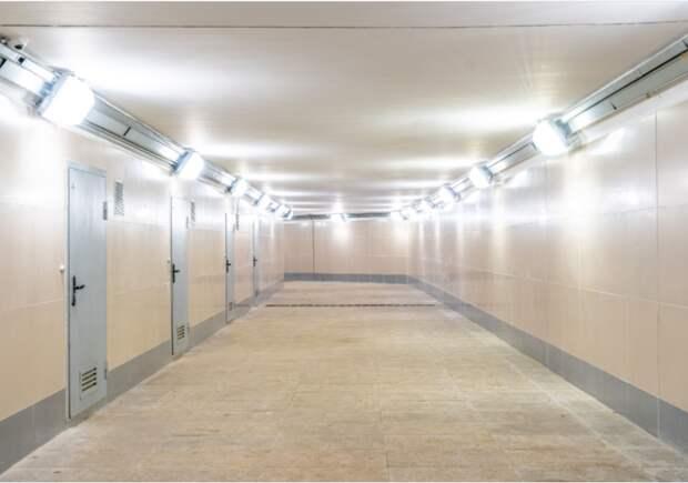 Подземный пешеходный переход в Лианозове номинирован в строительном конкурсе
