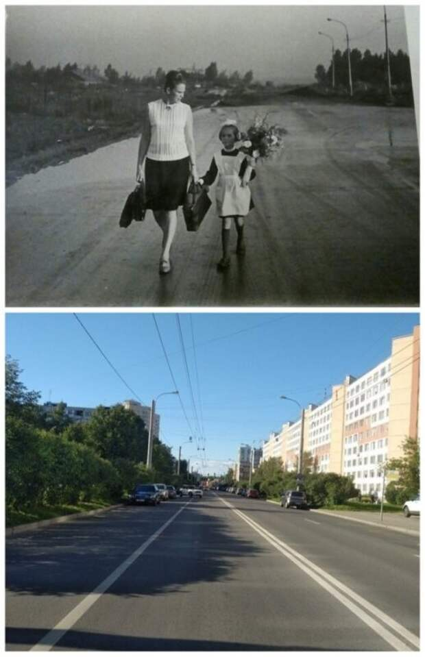 14 фото для сравнения старого инового Петербурга