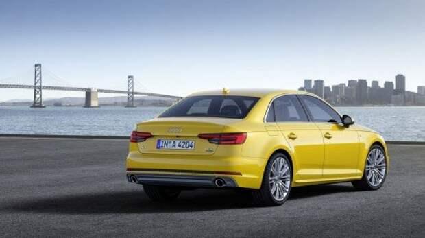 Audi раскрыла цены новой A4 в России