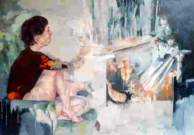 Французская художница. Magdalena Lamri
