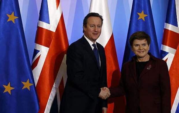 Великобритания и Польша договорились совместно противостоять России