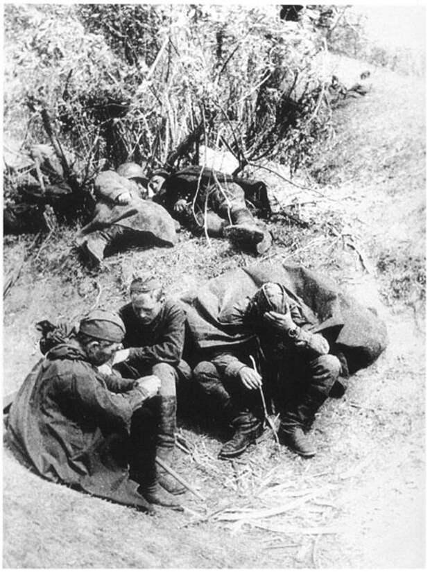 Про фронтовой быт советской пехоты