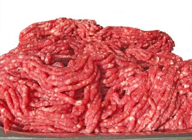 Почти весь говяжий фарш в Америке содержит фекалии