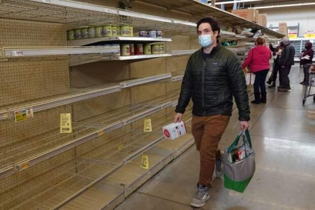 В Техасе заканчиваются запасы еды и воды