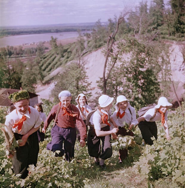 Лица Советской эпохи.  Школьники 1950-х