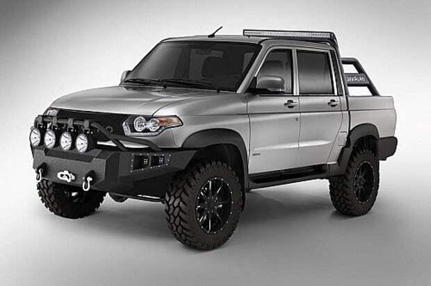 UAZ Pickup станет «Мерседесом»