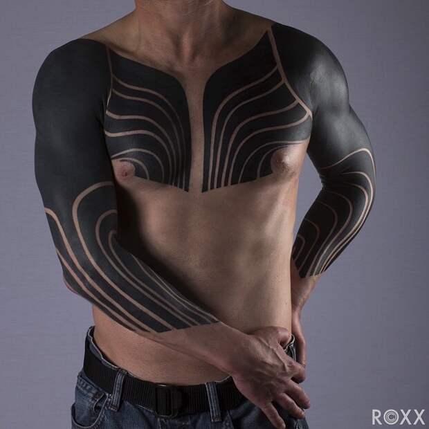 Blackout Tattoos подборка