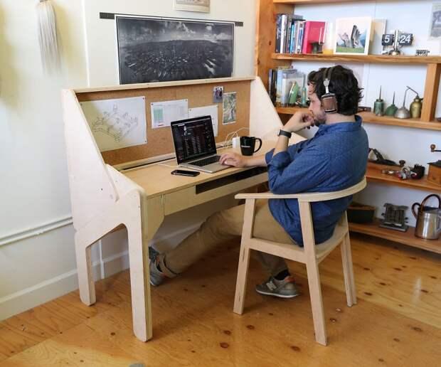 Хорошо работай — хорошо гуляй: стол-трансформер от Джонатана Одома