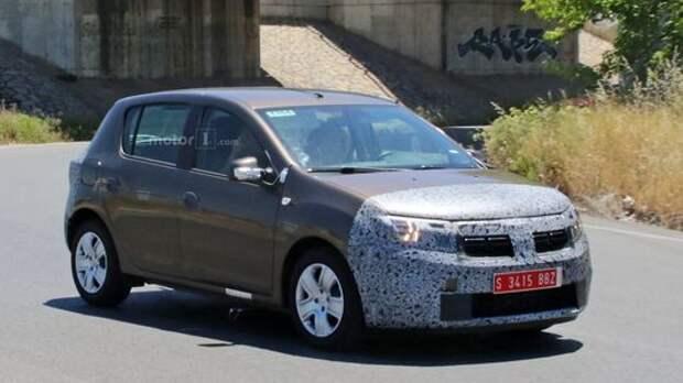 Dacia Sandero готовится к осеннему обновлению