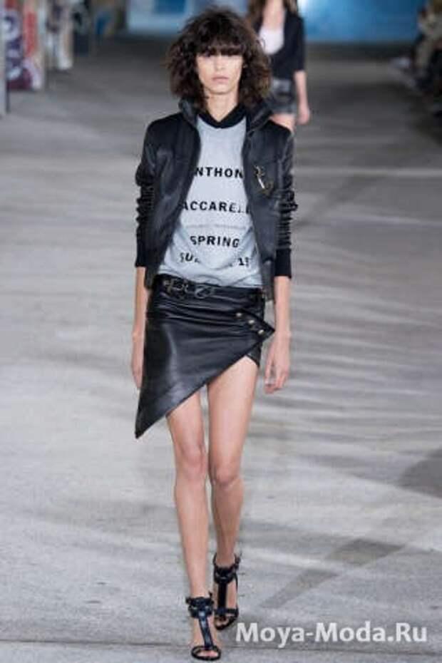 Модные юбки весна-лето 2015 Anthony Vaccarello