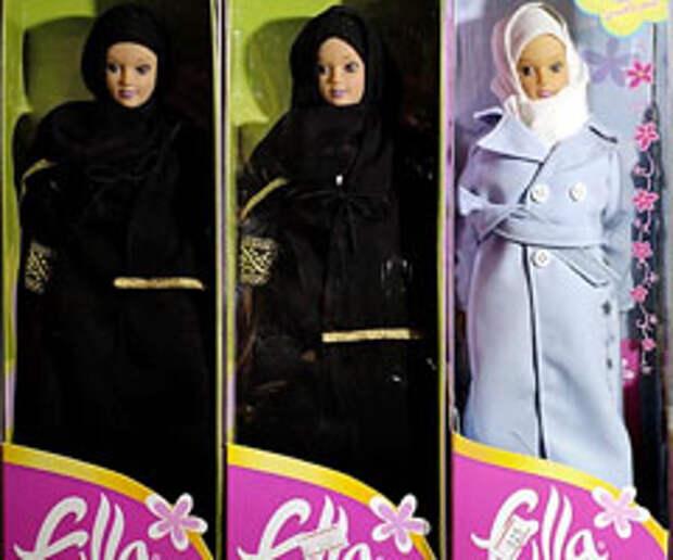 Береги волосы смолоду: идея по продвижению «мусульманской Барби»