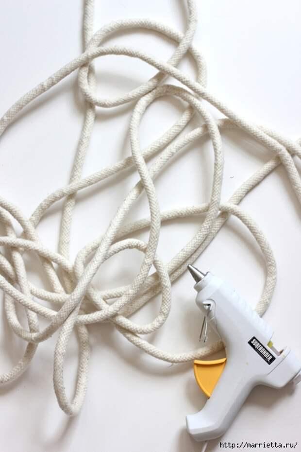 Корзинка для рукоделия из бельевой веревки (7) (466x700, 209Kb)