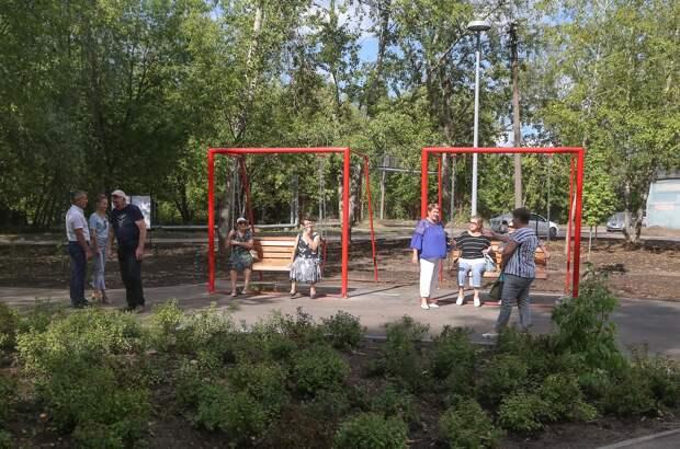 Новое благоустроенное пространство на месте заросшего пустыря появилось в Нижнем Новгородее