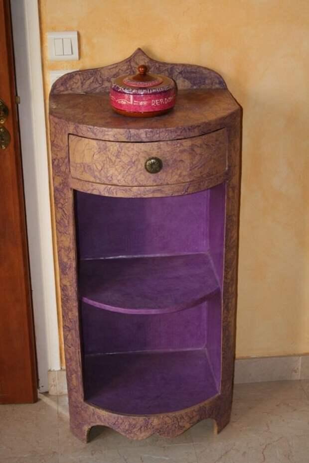 Идеи картонной мебели, которые удивительно практичны
