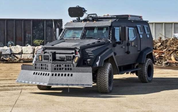 Inkas Sentry MPV - канадцы сделали многоцелевой броневик (8 фото)