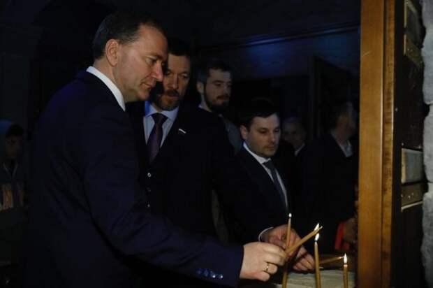 Белик прибыл в Сирию в составе делегации