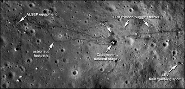 Американцы все-таки были на Луне. ФОТО
