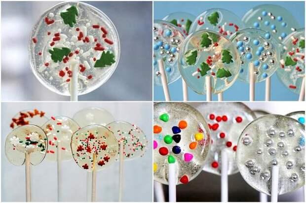 Праздничные леденцы. Фото с сайтов whatdresscodeblog.com, sweet2eatbaking.com, justataste.com